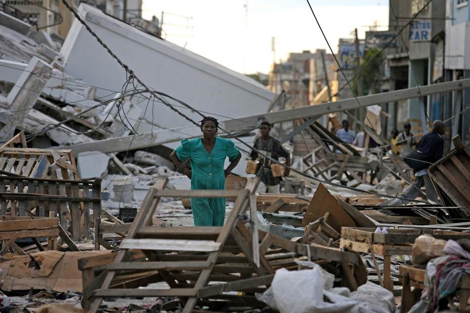 2010 | El 12 de enero, un terremoto de magnitud 7.1 sacudió  a Haití. (GFR Media)
