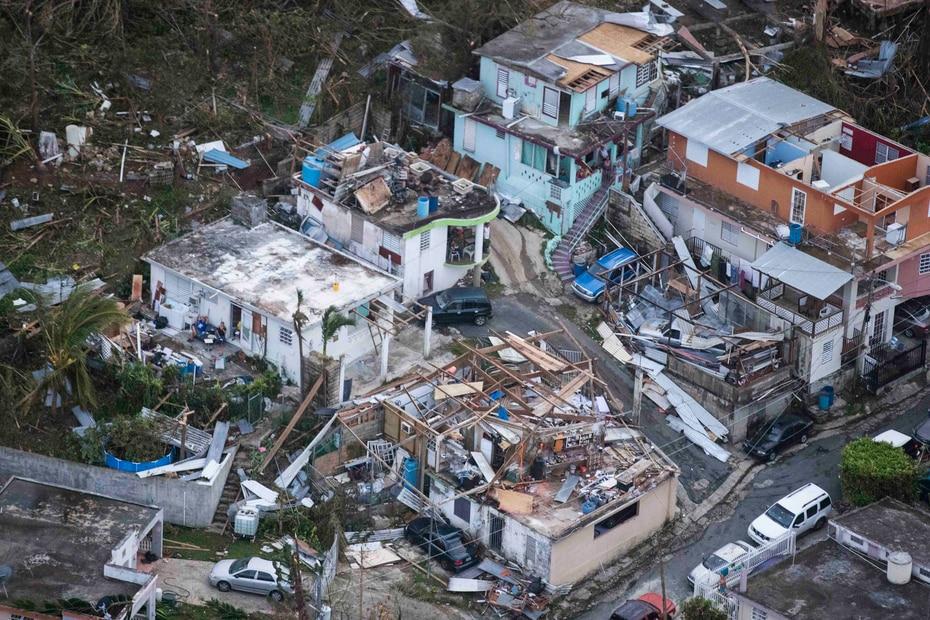 2017 | Miles de hogares fueron destruidos y la ayuda tardó en llegar a muchos. Un estudio estimó el saldo de muertes en 2,975 ya que las cifras oficiales eran deficientes. (GFR Media)