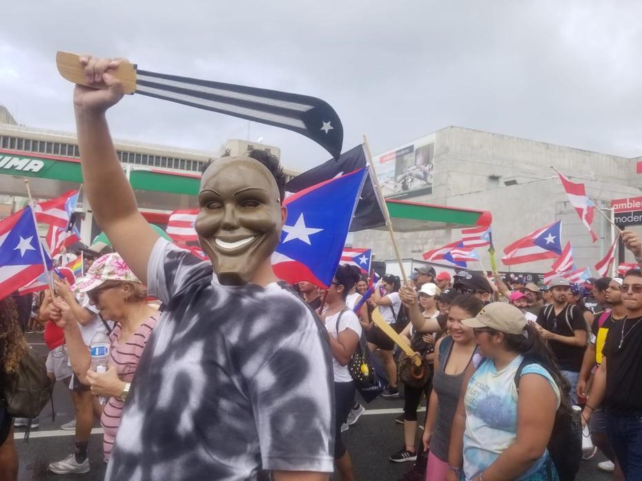 Los manifestantes también  exigen la auditoría de la deuda.