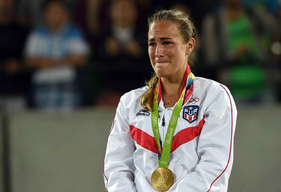 2016 | Medalla de oro para Mónica Puig en las Olimpiadas de Río.  (GFR Media)